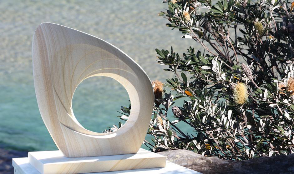 Sydney Sandstone Sculpture For Sale.